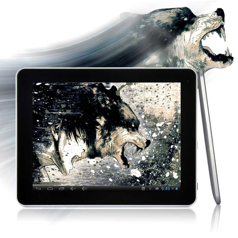 "Android 4.1 Tablet PC ""Fenris"" - 9.7 Inch, 1.6GHz Dual Core, 16GB + 4GB Micro SD Card OA1158"